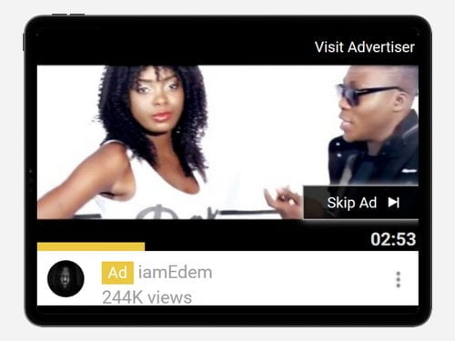 YouTube Advertising Campaign for Ayigbe Edem
