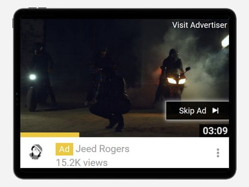 YouTube Advertising Campaign for Jeed Rogers
