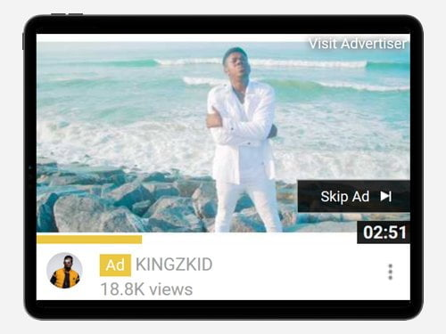 YouTube Advertising Campaign for KingzKid