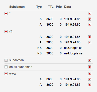 DNS Details
