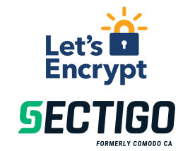 Let's Encrypt and Sectigo (formerly Comodo)