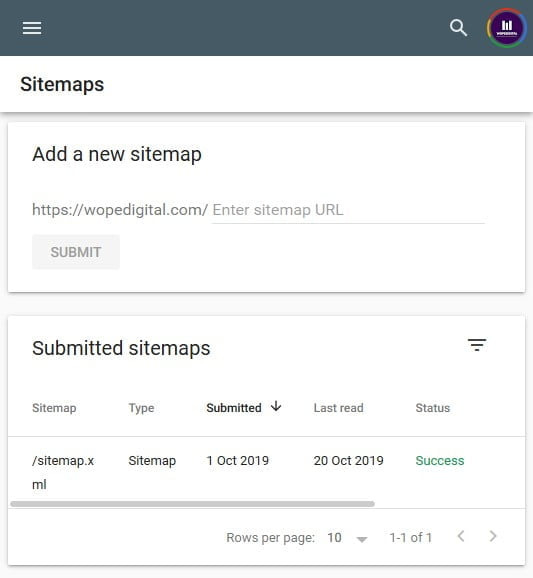 Sitemap Submission To Google