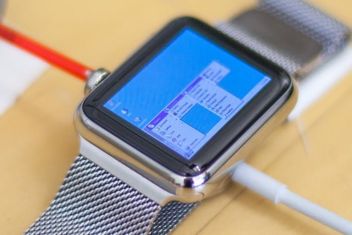 Windows 95 Hacked Onto Watch