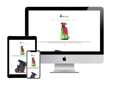 Ecommerce Website Design Project for Dreams By Nanna