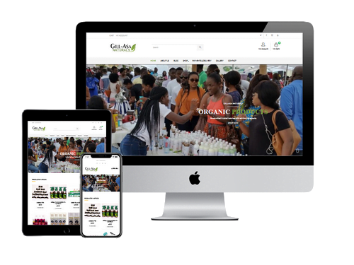 Ecommerce Website Design Project for Gill Asa Natural