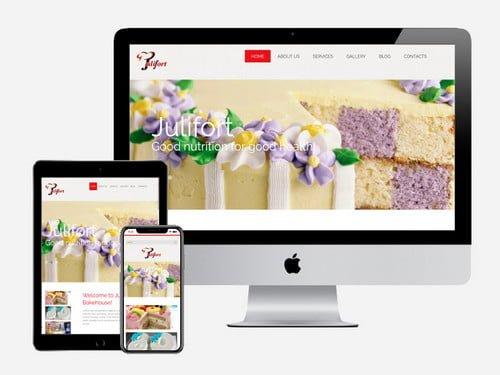 Website Design Project for Julifort Bakehouse