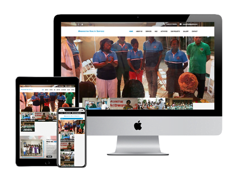 NGO Website Design Project for Maranatha Health Services