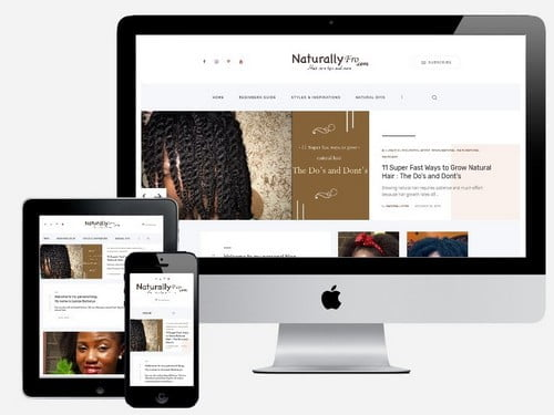 Website Design Project for Naturally Fro