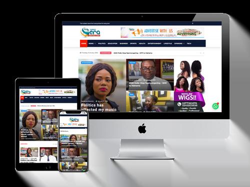 Website Design Project for News Era Online
