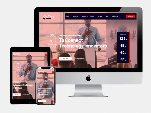 Website Design Project for GovTech Africa