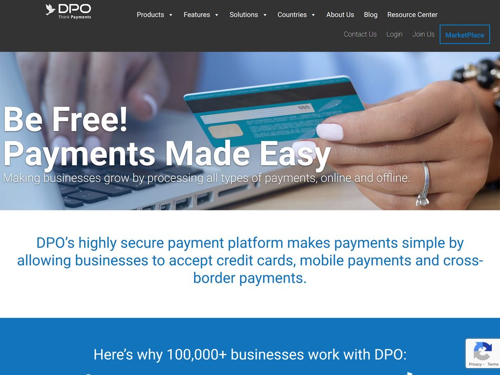 DPO - Making businesses grow by processing all types of payments, online and offline
