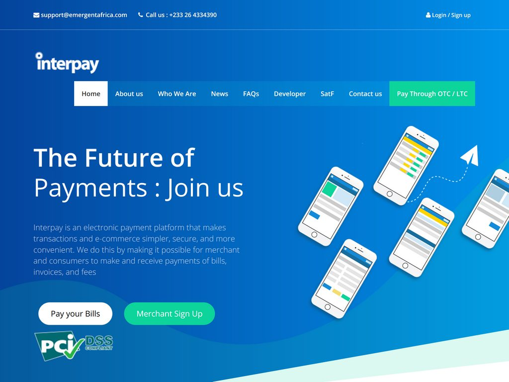 Interpay is an electronic payment platform that makes transactions and e-commerce simpler, secure and more convenient