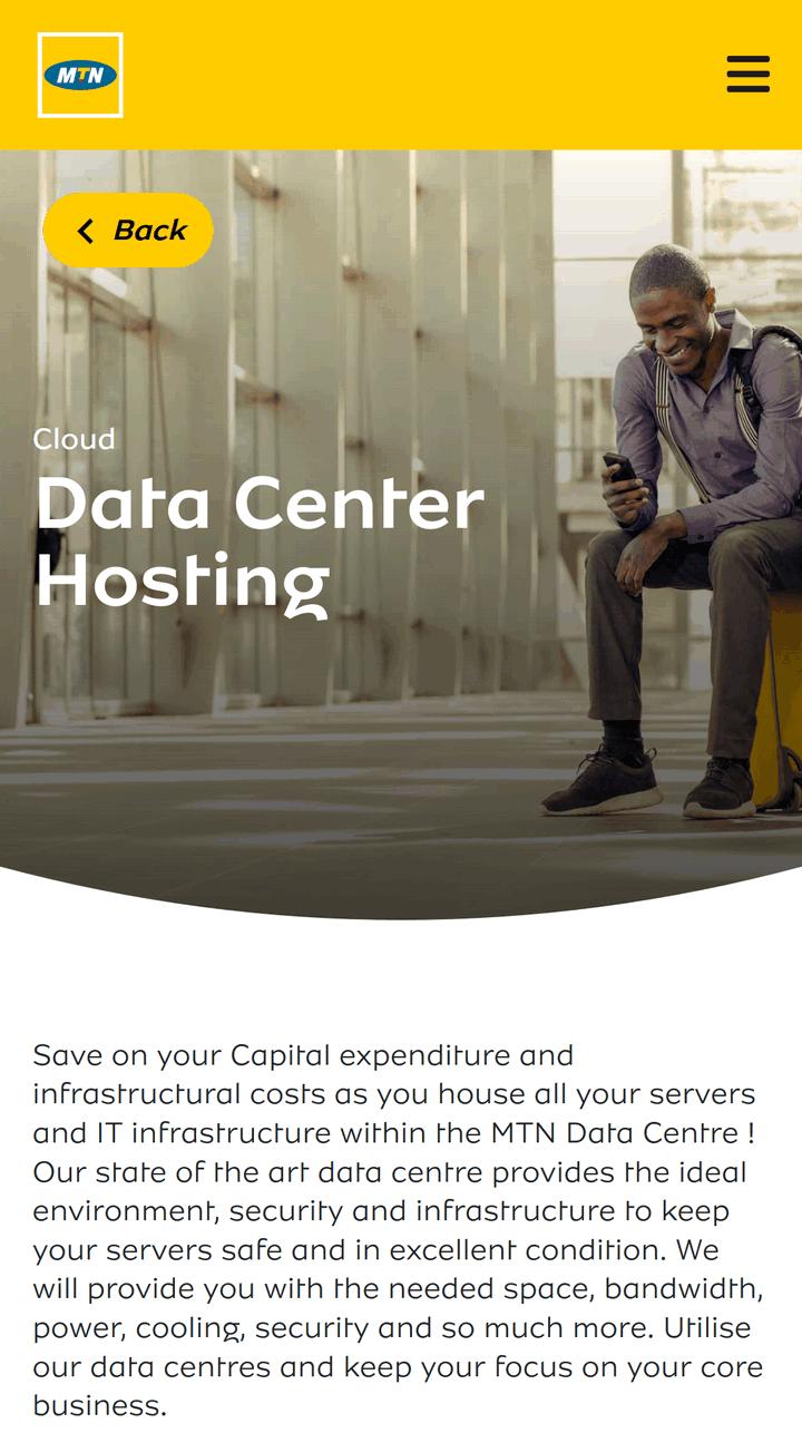 MTN offers data centre hosting in Ghana