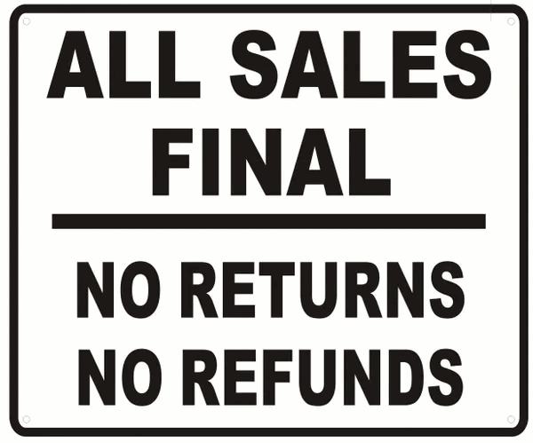 Many ecommerce businesses in Ghana do not offer a return or refund policy