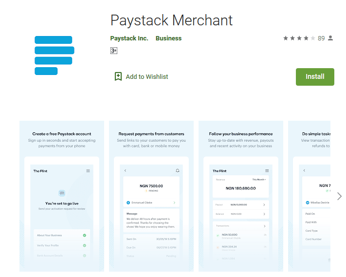 The Paystack Merchant app allows you to view and manage your account from your Android or Apple device.
