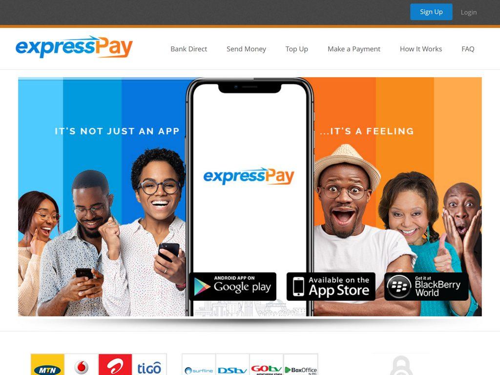 expressPay - It's not just an app, it's a feeling