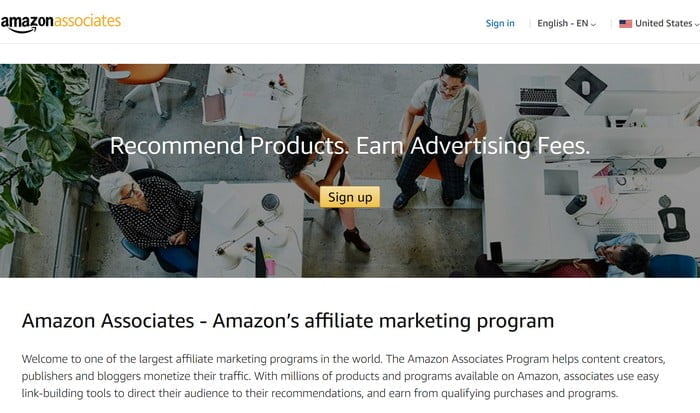 The Amazon Affiliate Program provided Amazon with thousands of links back to their website providing lots of referral traffic