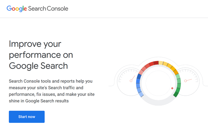Sign up with GSC (Google Search Console) to improve your SEO efforts to rank on the first page of Google