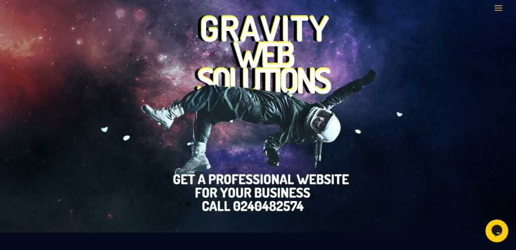 Gravity Web Solutions provide website design, software development and online marketing services