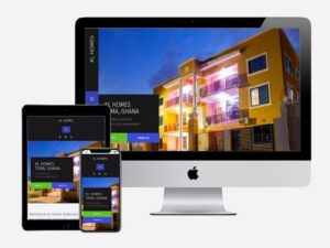 Website Development for KL Homes