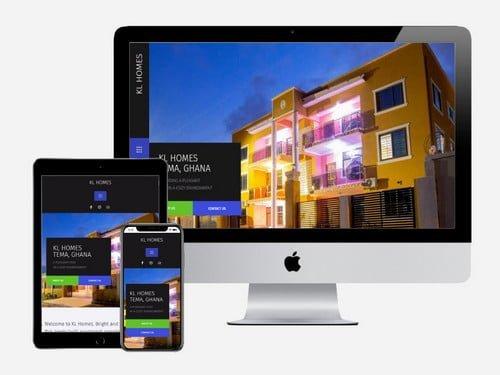 Website Development for KL Homes