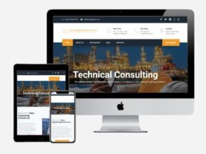 Corporate website designed for Zelco Global Engineering