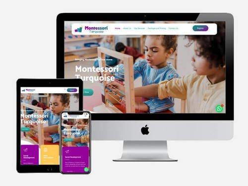 Website Development for Montessori Turquoise
