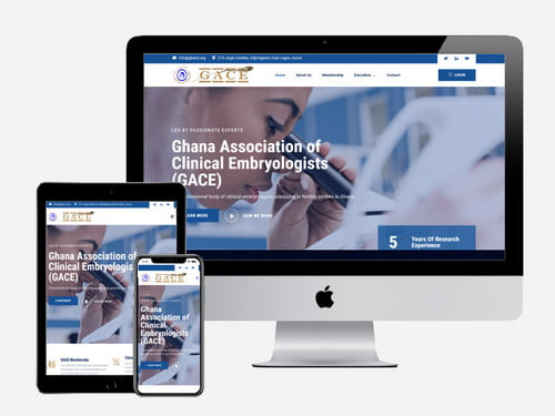 Web Design Project for Gace.org