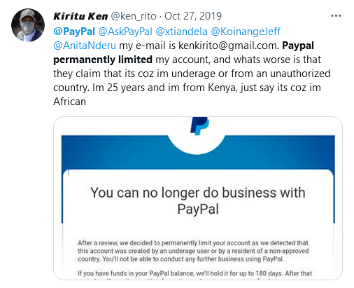 Horror stories of locked and permanently limited PayPal accounts