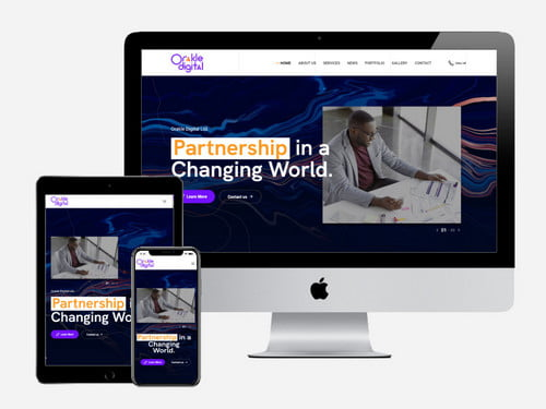 Corporate Website Design and Development for Orakle Digital