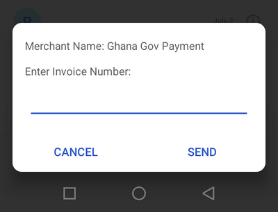 Zenith Bank 966 shortcode for paying Ghana.GOV invoice